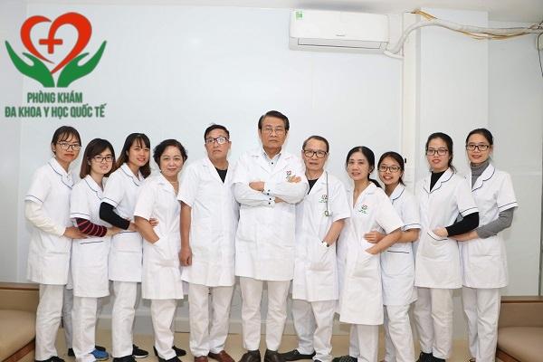 Đội ngũ bác sĩ Phòng khám đa khoa Y Học Quốc Tế