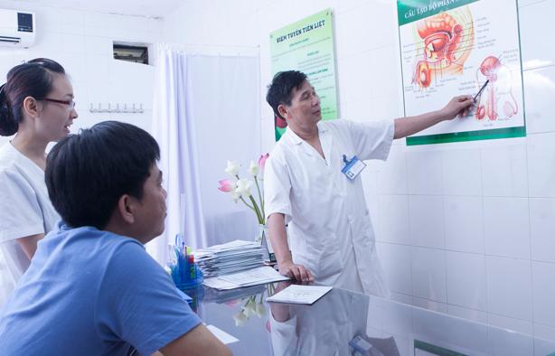 Bác sỹ hỗ trợ tư vấn nam khoa qua điện thoại